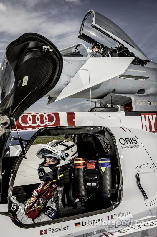 Audi R18 vs. Eurofighter Typhoon