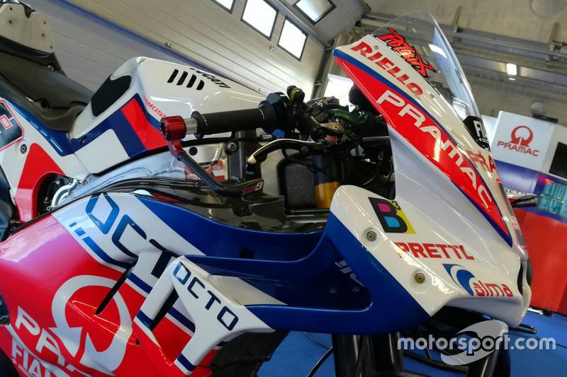 Detail fairing aerodinamika Pramac Racing