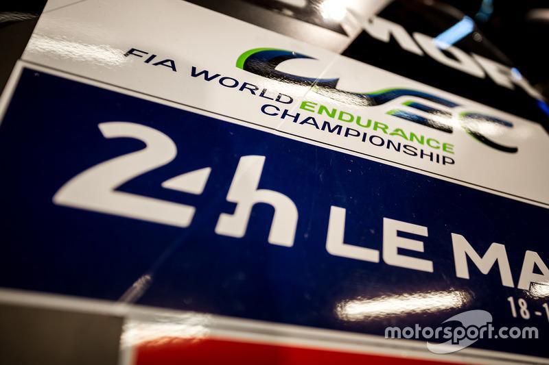 Logo de las 24 horas de Le Mans y del Campeonato Mundial de Resistencia