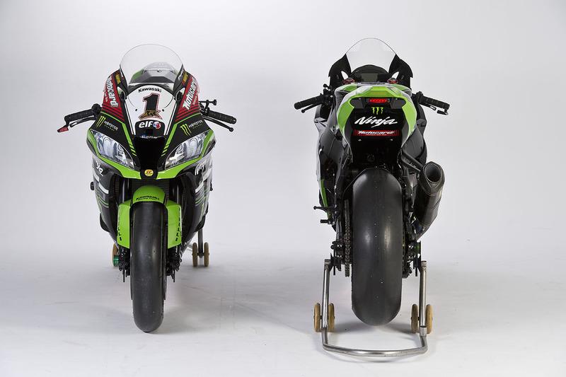 Moto de Jonathan Rea, Tom Sykes, Kawasaki Racing, Ninja ZX-10RR
