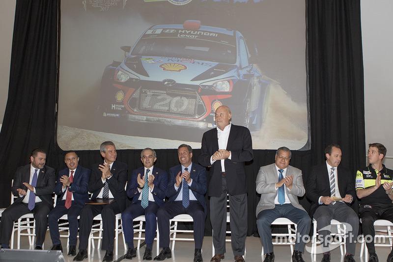 Juan Suberville Director del Rally de México