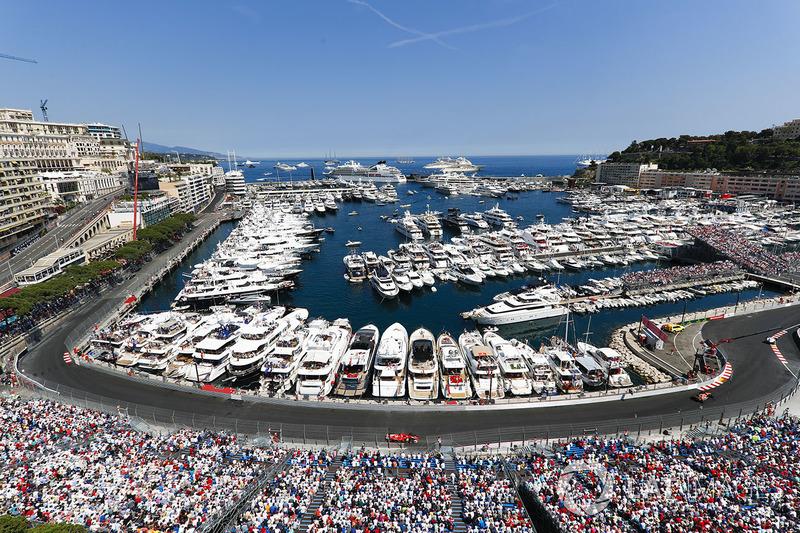 Suasana GP Monako 2017