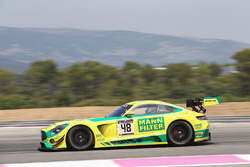 #48 Team HTP Motorsport Mercedes AMG GT3: Kenneth Heyer, Indy Dontje, Patrick Assenheimer