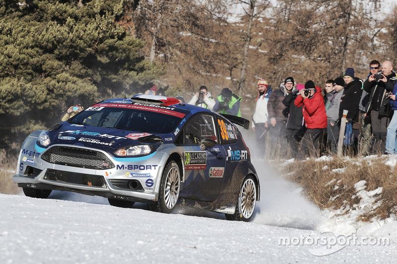 Eric Camilli, Benjamin Veillas, Ford Fiesta WRC, M-Sport