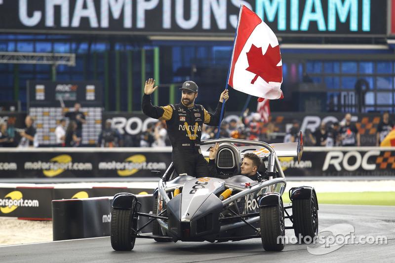James Hinchcliffe y Stefan Rzadzinski, Team RoC Factor Canadá