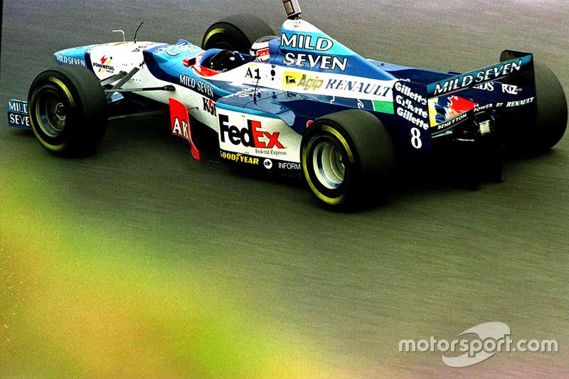 #8: Gerhard Berger, Benetton B197
