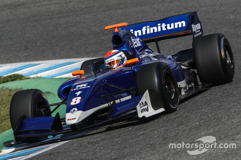 Diego Menchaca (Fortec Motorsports)
