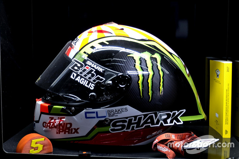 Le casque de Johann Zarco, Monster Yamaha Tech 3