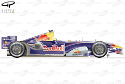 Red Bull RB1 side view