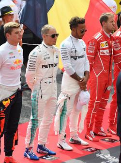 Макс Ферстаппен, Red Bull Racing, Валттері Боттас, Льюіс Хемілтон, Mercedes AMG F1, Себастьян Феттель, Ferrari