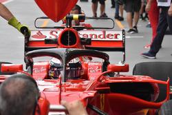 Кими Райкконен, Ferrari SF70H с Halo