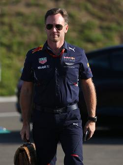 Christian Horner, Teamchef, Red Bull Racing