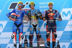 Podium: 1. Franco Morbidelli, Marc VDS; 2. Mattia Pasini, Italtrans Racing Team; 3. Miguel Oliveira, Red Bull KTM Ajo