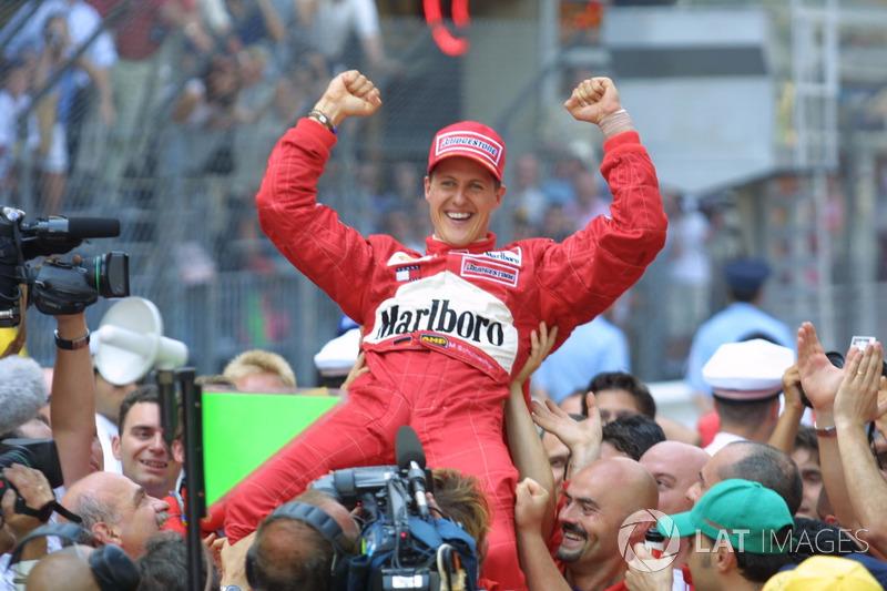 Міхаель Шумахер, Ferrari F2001