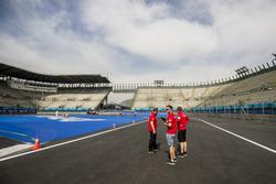 Streckenbegehung: Daniel Abt, ABT Schaeffler Audi Sport