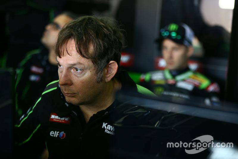 Jonathan Rea technician, Kawasaki Racing