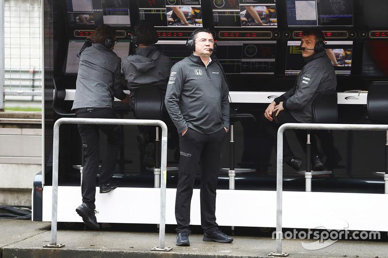 Eric Boullier, McLaren Racing Director