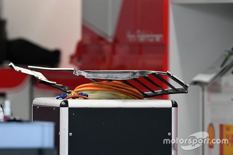 Ferrari SF70H bodywork detail