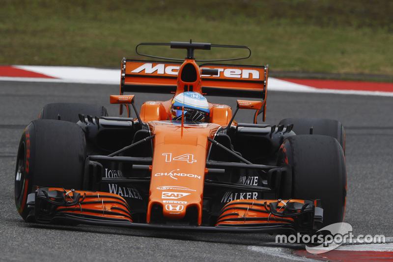 13: Фернандо Алонсо, McLaren MCL32