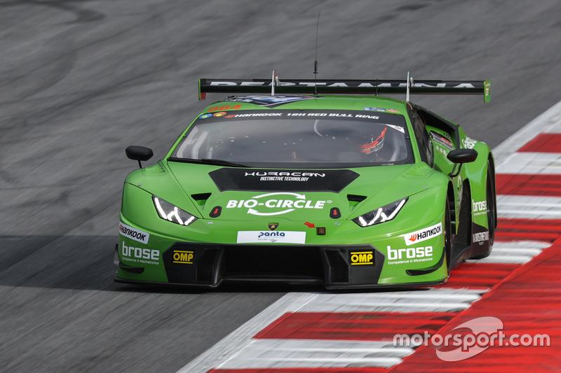 #964 GRT Grasser Racing Team, Lamborghini Huracan GT3: Rolf Ineichen, Christian Engelhart, Mark Ineichen