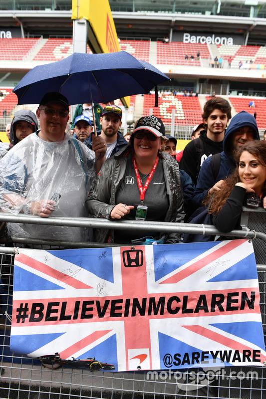Поклонники McLaren
