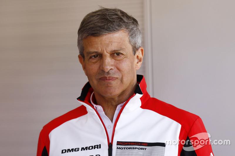 Fritz Enzinger, Porsche Team