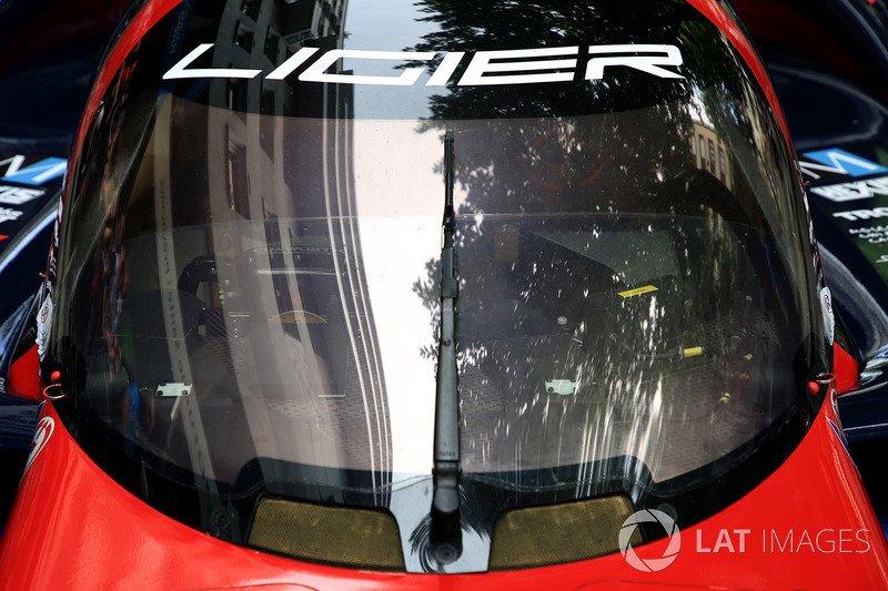 Автомобиль Ligier JS P217 Gibson команды Eurasia Motorsport, фрагмент