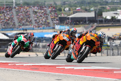 Pol Espargaro, Red Bull KTM Factory Racing; Bradley Smith, Red Bull KTM Factory Racing