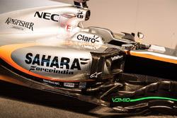 The Sahara Force India F1 VJM10 detail