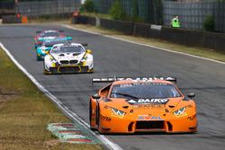 #27 Orange 1 Team Lazarus Lamborghini Huracan GT3: Fabrizio Crestani, Gustavo Yacaman
