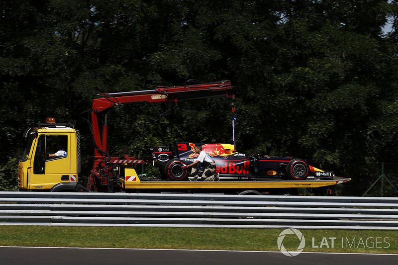 Auto von Daniel Ricciardo Red Bull Racing RB13