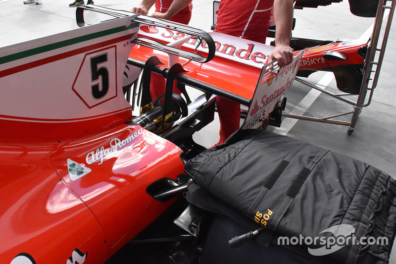 Аероднамічні елементи Ferrari SF70-H