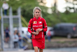 Britta Roeske, PA to Sebastian Vettel, Ferrari