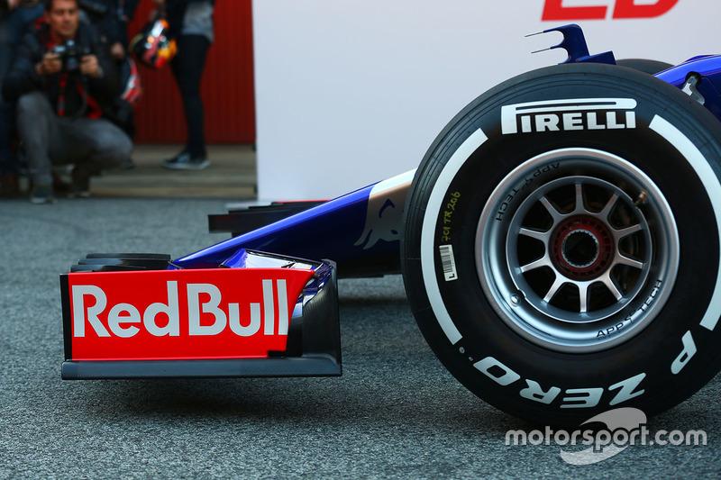 Переднє антикрило Scuderia Toro Rosso STR12