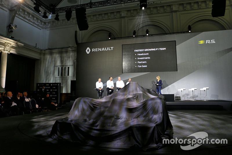 Die Teamleitung des Renault F1 Teams