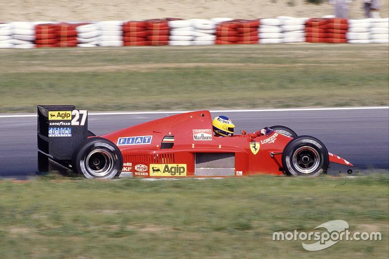 1986: Ferrari F186 (пять подиумов, 4-е место в КК)