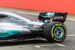 Задня частина Mercedes AMG F1 W08 Hybrid