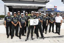 Polesitter Charlie Kimball, Chip Ganassi Racing Honda