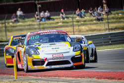 #31 CD Sport, Porsche Cayman Clubsport MR GT4: Morgan Moullin-Traffort, David Hallyday