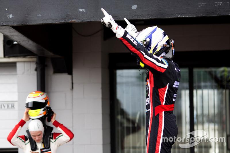 Race winner Joel Eriksson, Motopark, Dallara F317 - Volkswagen