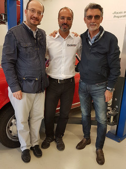 Gabriele Testi, Dario Pergolini et Lorenzo Senna