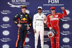 Льюіс Хемілтон, Mercedes AMG, Кімі Райкконен, Ferrari, Макс Ферстппен, Red Bull Racing