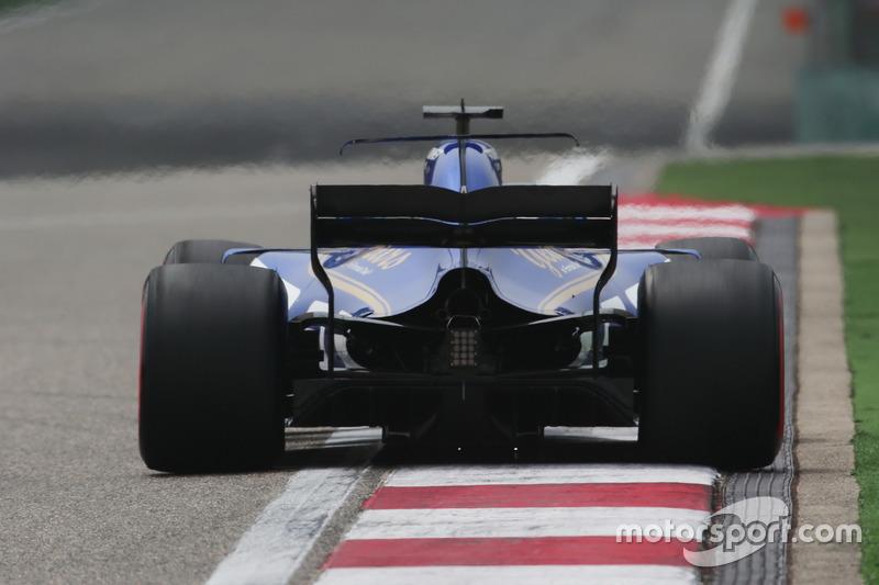 16 місце — Маркус Ерікссон, Sauber. Умовний бал — 6,223