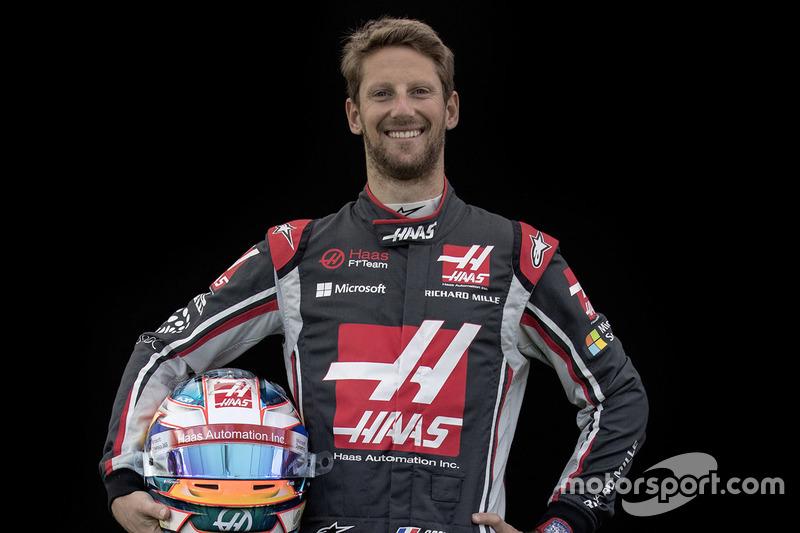 Romain Grosjean, Haas F1 Team  (Contrato hasta final de 2018)