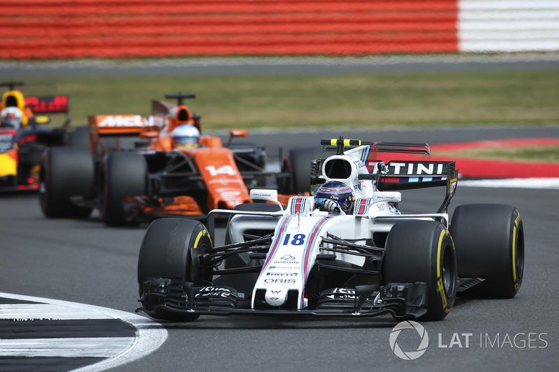 Ленс Стролл, Williams FW40, Фернандо Алонсо, McLaren MCL32