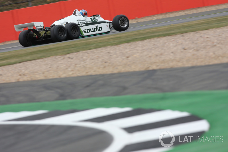 Пол ді Реста, Williams FW08B Cosworth
