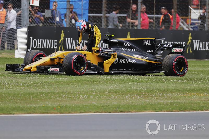 Henüz formasyon turunda yolda kalan Jolyon Palmer, Renault