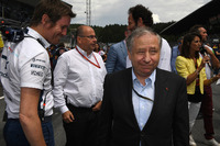 Rob Smedley, Williams Head of Vehicle Performance, Jean Todt, FIA President