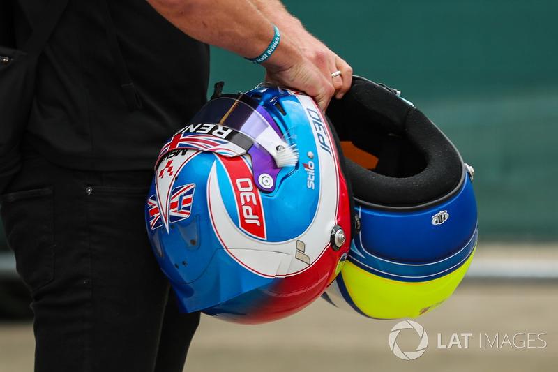 Шолом Джоліона Палмера, Renault Sport F1 Team