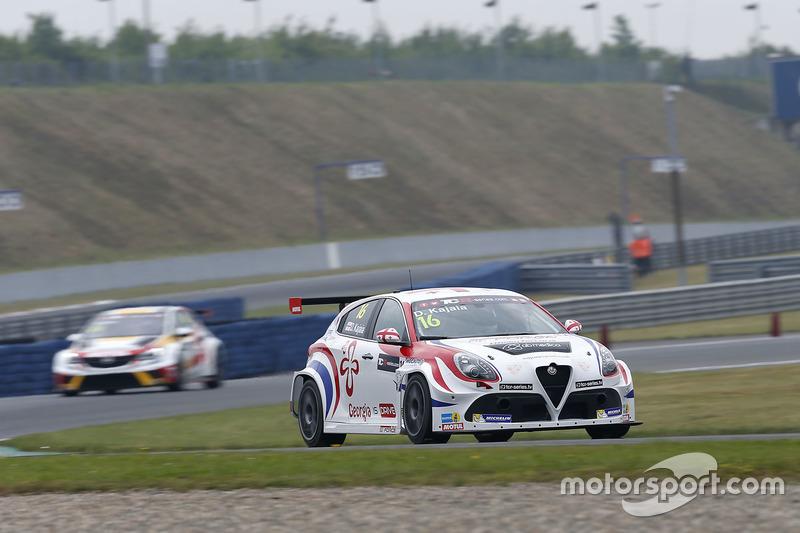 Давіт Каджая, GE-Force, Alfa Romeo Giulietta TCR